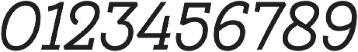 Hogar Slab SemiBold It otf (600) Font OTHER CHARS