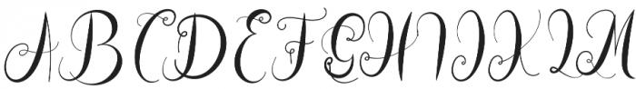 Hogituey otf (400) Font UPPERCASE