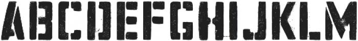 Hogwild Medium otf (500) Font LOWERCASE