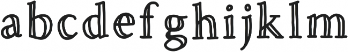 Hold Fast Regular otf (400) Font LOWERCASE