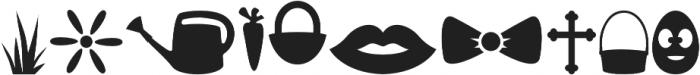 Holidaiki Symbols otf (400) Font OTHER CHARS