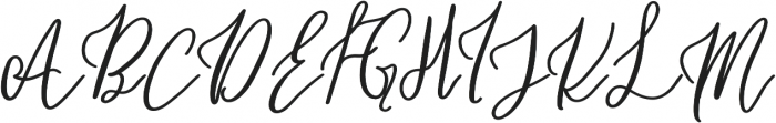 Holiday Coffee Bold otf (700) Font UPPERCASE