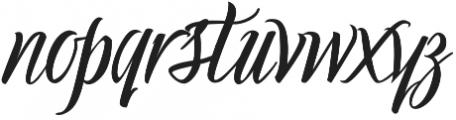 Holiday Romance otf (400) Font LOWERCASE