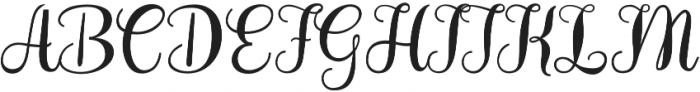 Hollandaise Bold otf (700) Font UPPERCASE