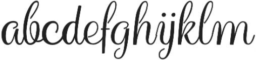 Hollandaise Bold otf (700) Font LOWERCASE