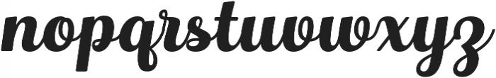 Hollywood otf (400) Font LOWERCASE