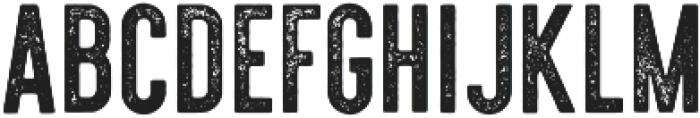 Holtzman Textured otf (400) Font UPPERCASE
