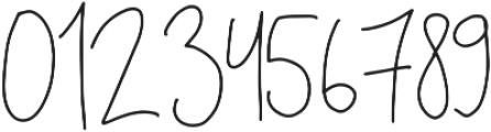 Holubar otf (400) Font OTHER CHARS