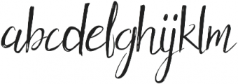 Holy Mountain Mode otf (400) Font LOWERCASE