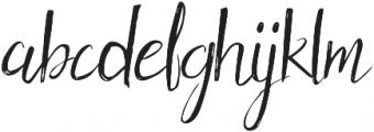 Holy Mountain Style otf (400) Font LOWERCASE