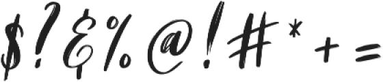 Holyson otf (400) Font OTHER CHARS