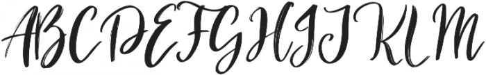 Holyson otf (400) Font UPPERCASE