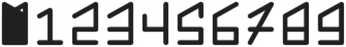Hom monogram otf (400) Font OTHER CHARS