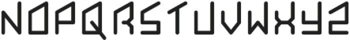 Hom monogram otf (400) Font UPPERCASE
