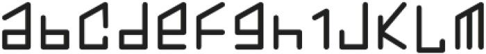 Hom monogram otf (400) Font LOWERCASE