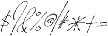 Homage slant otf (400) Font OTHER CHARS