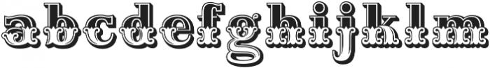 Home Style Plain Regular otf (400) Font LOWERCASE