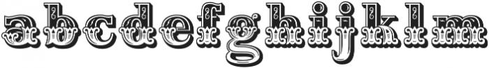 Home Style Regular otf (400) Font LOWERCASE