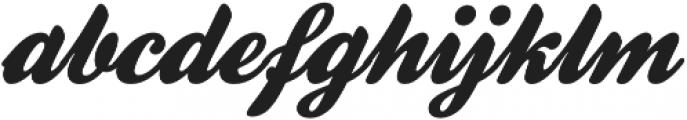 Homelass Script otf (400) Font LOWERCASE