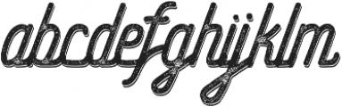 Hometown Script Rough Shadow otf (400) Font LOWERCASE