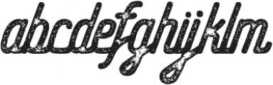 Hometown Script Rough otf (400) Font LOWERCASE