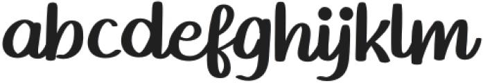 Homework-Regular otf (400) Font LOWERCASE