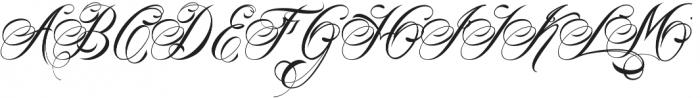 Homi Script  VMF Regular otf (400) Font UPPERCASE
