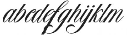 Homi Script  VMF Regular otf (400) Font LOWERCASE