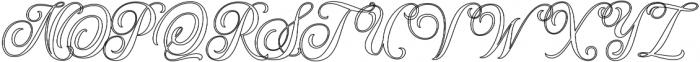 Hondurhas Expanded otf (400) Font UPPERCASE
