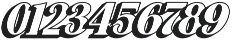 Hondurhas Shadow otf (400) Font OTHER CHARS