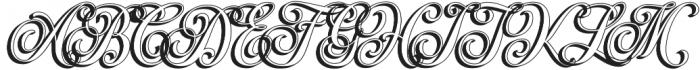 Hondurhas Shadow otf (400) Font UPPERCASE