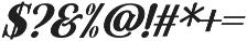 Hondurhas otf (400) Font OTHER CHARS