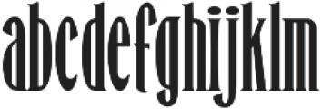 Honest Merchant ttf (400) Font LOWERCASE
