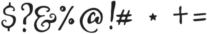 HoneyCream otf (400) Font OTHER CHARS