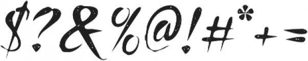 Honeydrop Jean Regular otf (400) Font OTHER CHARS