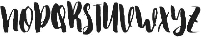 Honeyflower otf (400) Font UPPERCASE