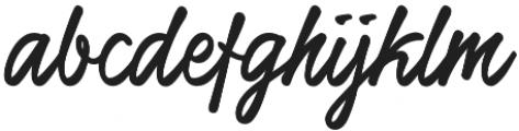 Honeymoon Upright Bold otf (700) Font LOWERCASE