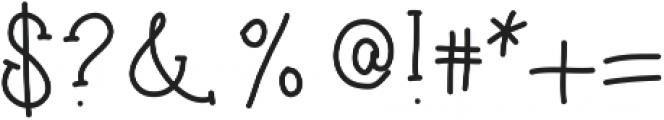 Honeysuckle ttf (400) Font OTHER CHARS