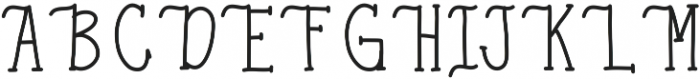 Honeysuckle ttf (400) Font UPPERCASE