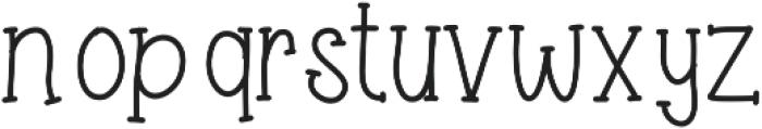 Honeysuckle ttf (400) Font LOWERCASE