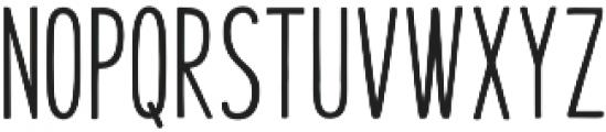 Honilad Sans II Regular otf (400) Font LOWERCASE