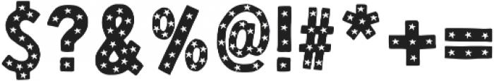 Honoka Starry otf (400) Font OTHER CHARS