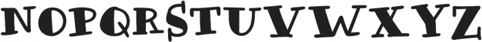 Honolulu Filled Jumpy otf (400) Font UPPERCASE