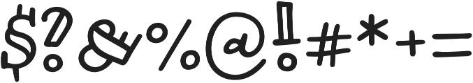 Honolulu Jumpy otf (400) Font OTHER CHARS