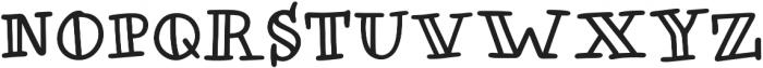 Honolulu Jumpy otf (400) Font LOWERCASE