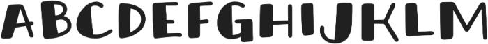 Honolulu Sans Filled Jumpy otf (400) Font LOWERCASE