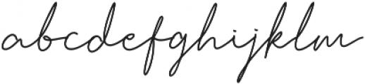 Honolulu ttf (400) Font LOWERCASE