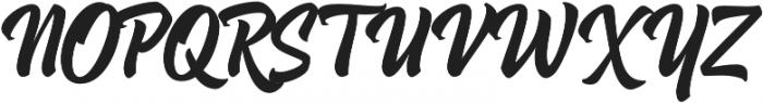 Hoodson Script otf (400) Font UPPERCASE
