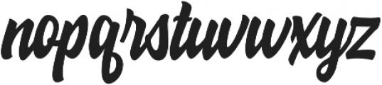 Hoodson Script otf (400) Font LOWERCASE