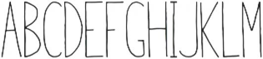 Horizon Light otf (300) Font LOWERCASE